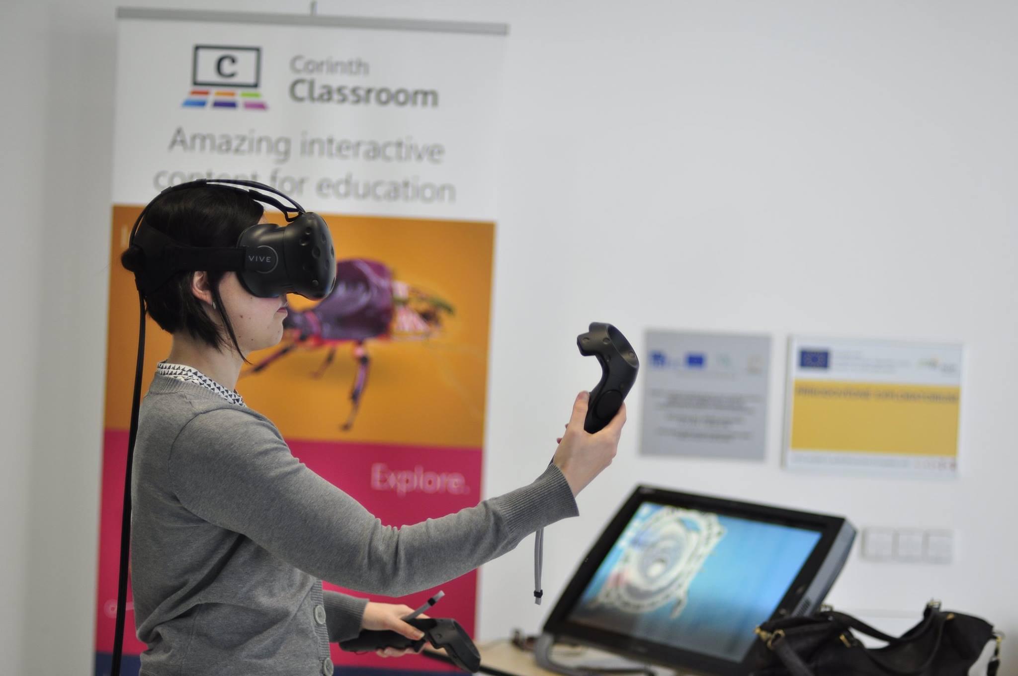 Corinth - Corinth Blog - Corinth introduces first VR